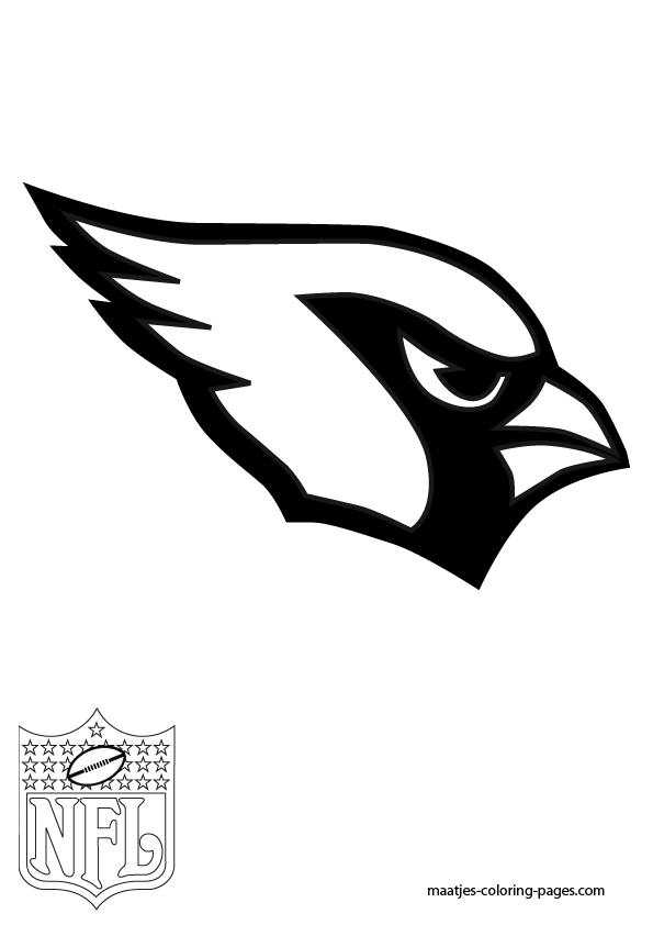 cardinals coloring pages with multiplication | Az Cardinals Coloring Pages - Coloring Home