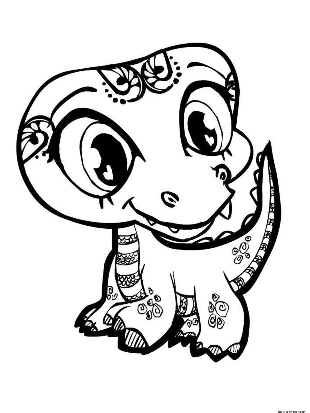 Littlest Pet Shop Printable Halloween Coloring Pages Coloring