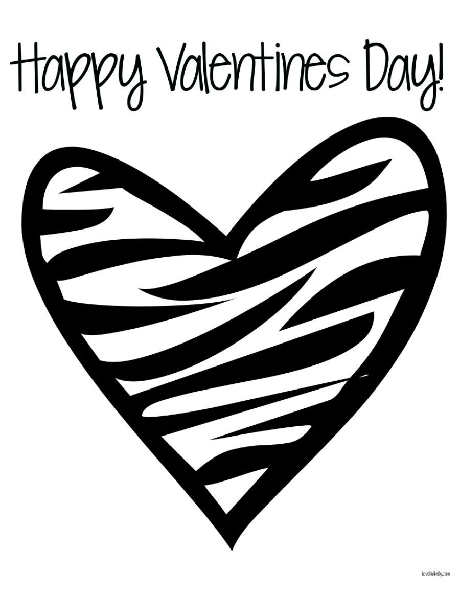 Coloring Pages Of Hearts From Ages  To