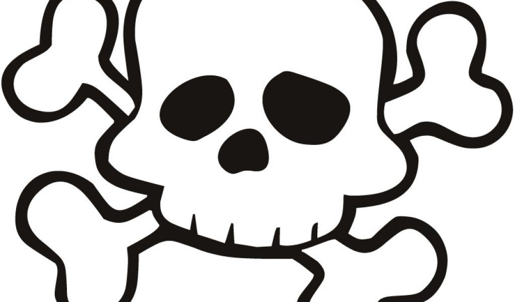 skull and bones coloring pages - skull and cross bone coloring pages free az coloring pages