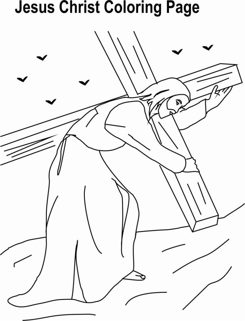 Christian Preschool Coloring Pages