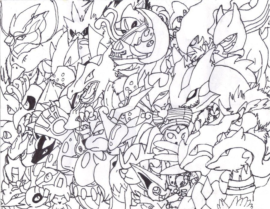 All legendary pokemon coloring pages coloring home for All pokemon coloring pages