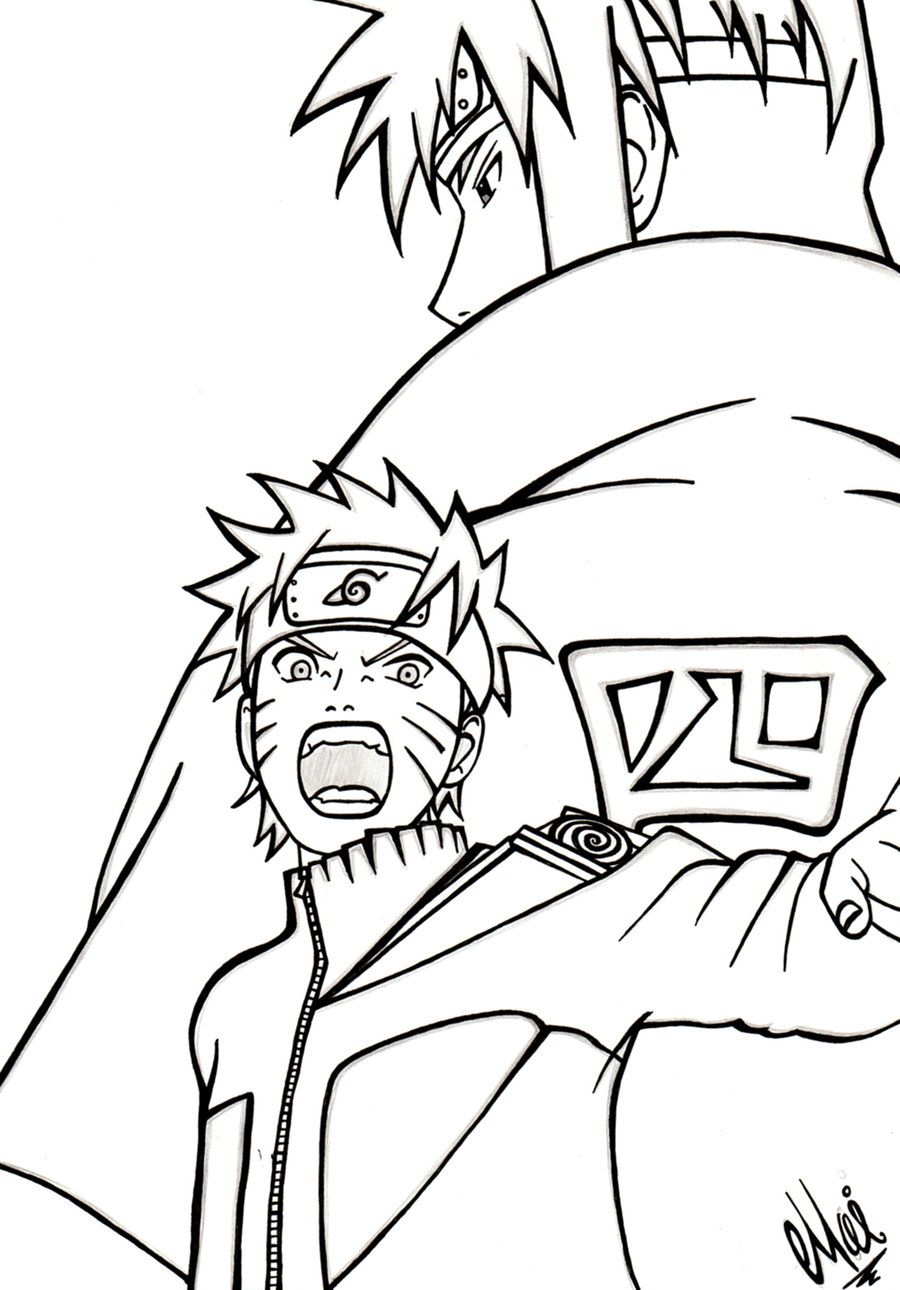 coloring pages of naruto - naruto coloring pages pdf coloring home