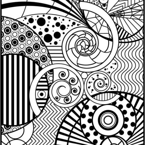 Cool Patterns Coloring Pages - Coloring Home
