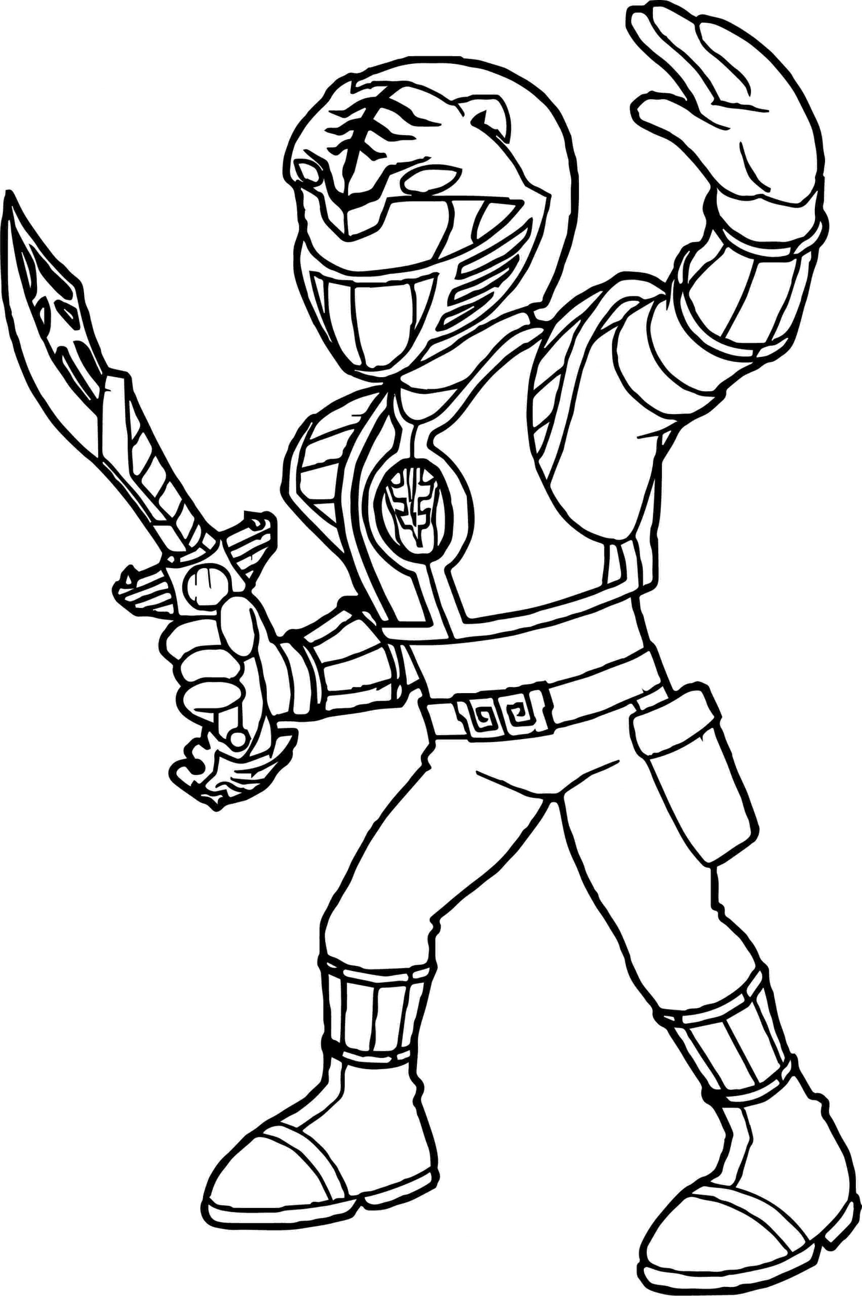 Pages Coloring Red Ranger Coloring Page Samurai Warriors Coloring Home