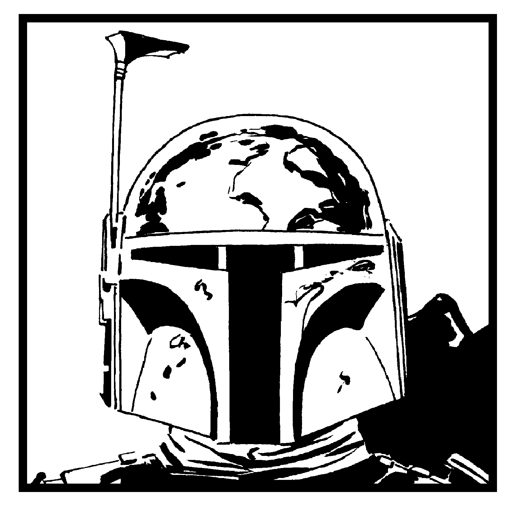 Plain Boba Fett picture?