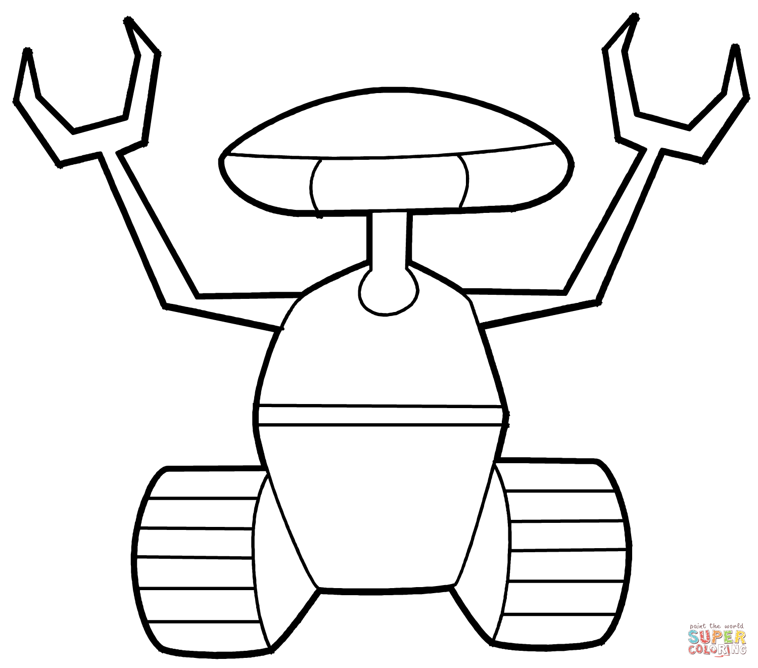 Lego Robot Coloring Pages Coloring