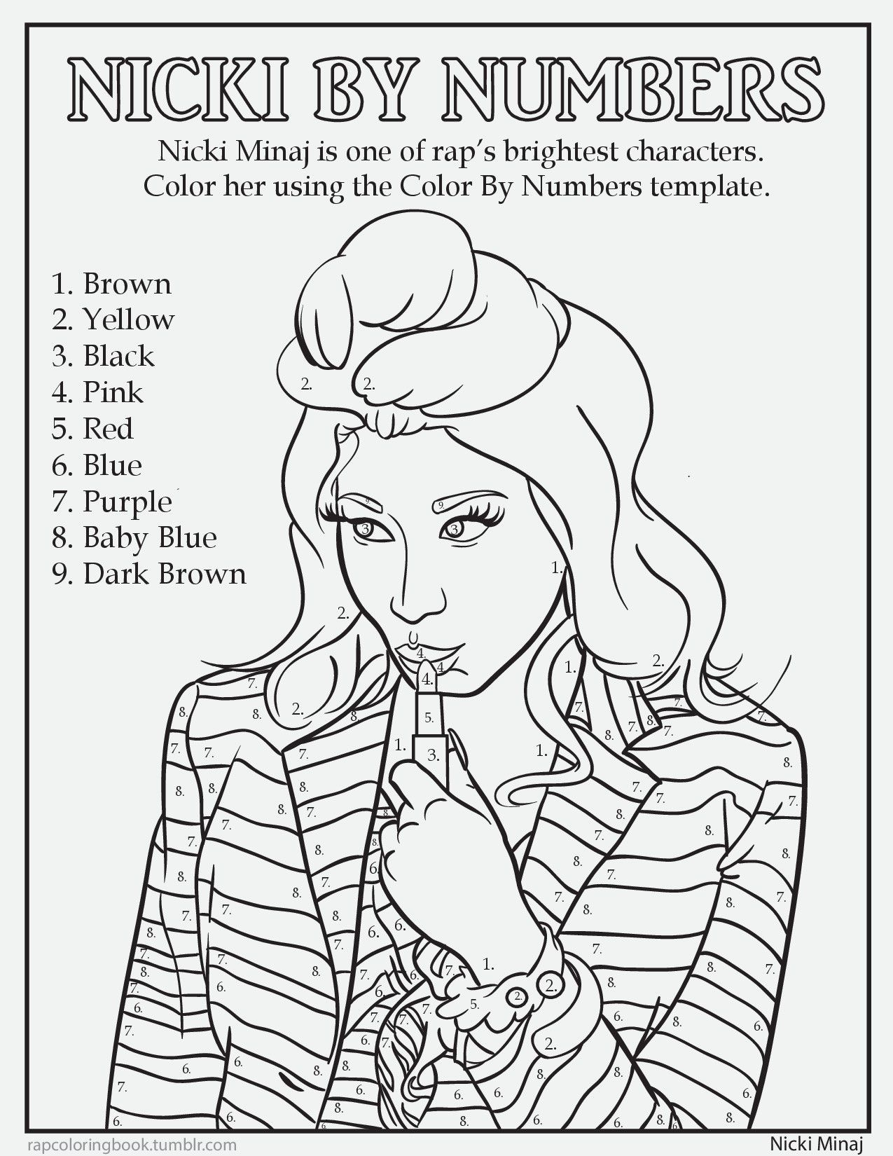 Hip Hop Coloring Pages Coloring