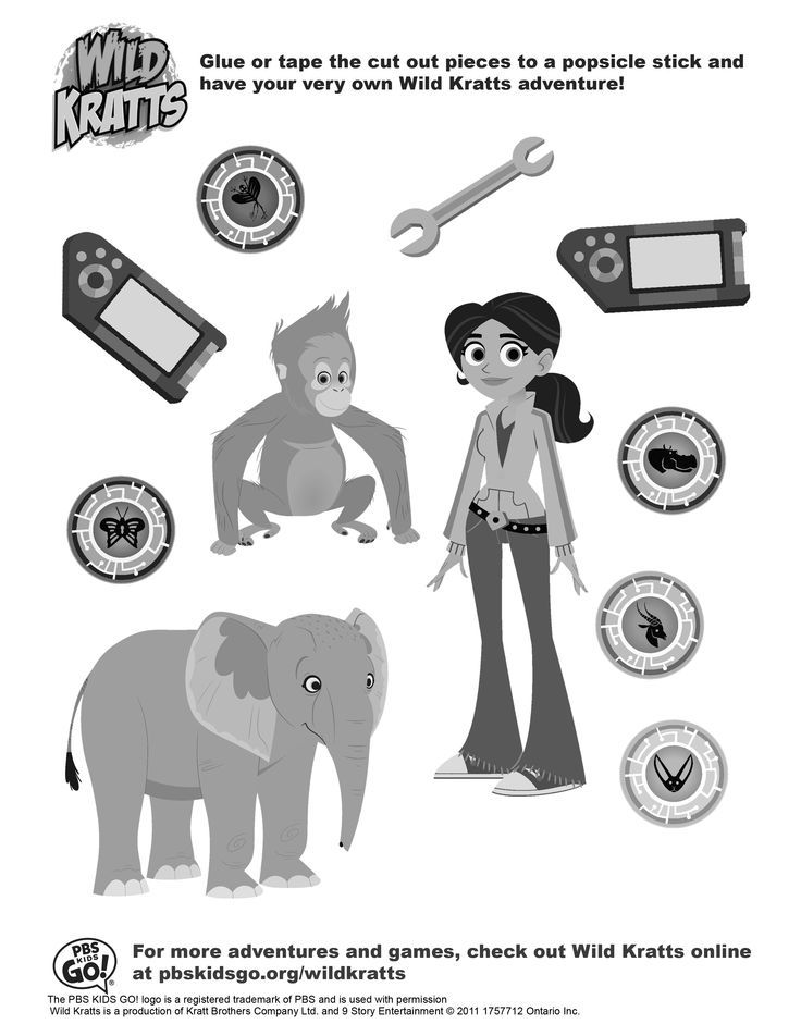 wild kratts coloring pages | Wildkratt colouring pages | Kyle's ...