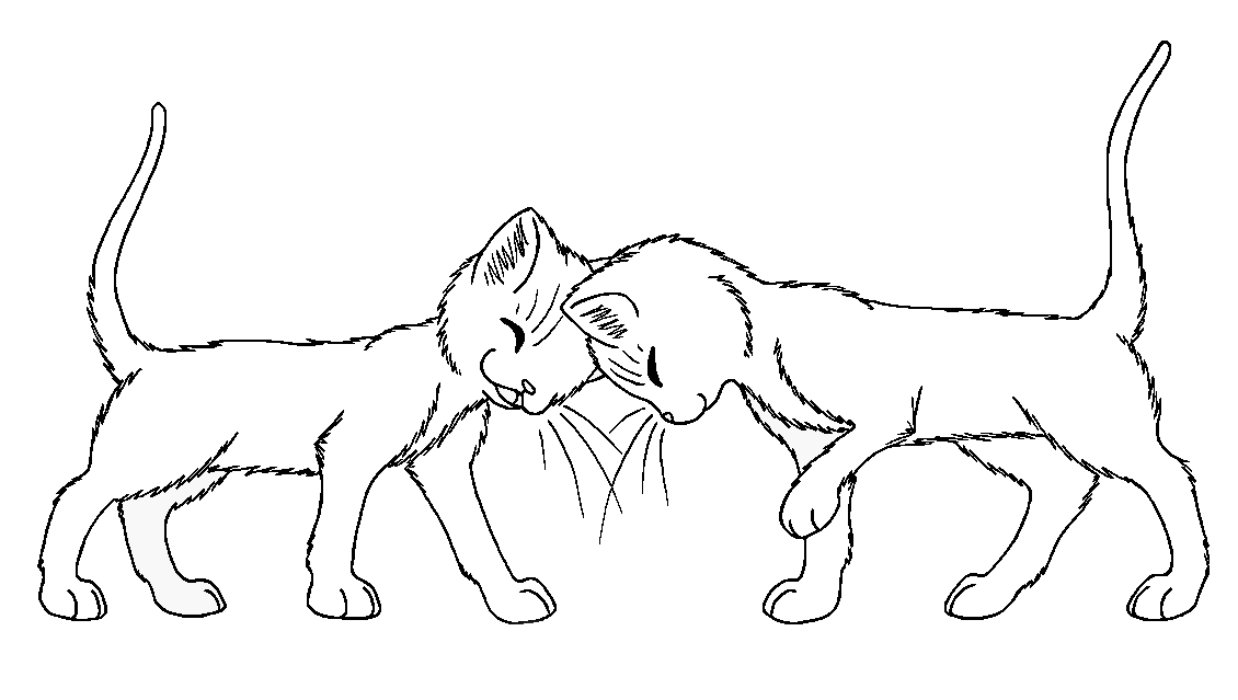 Warrior Cat Coloring Pages Mates Coloring Home