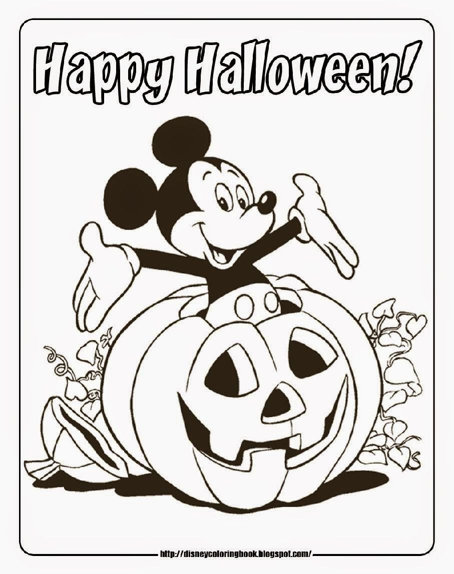 halloween prek coloring pages - photo#22