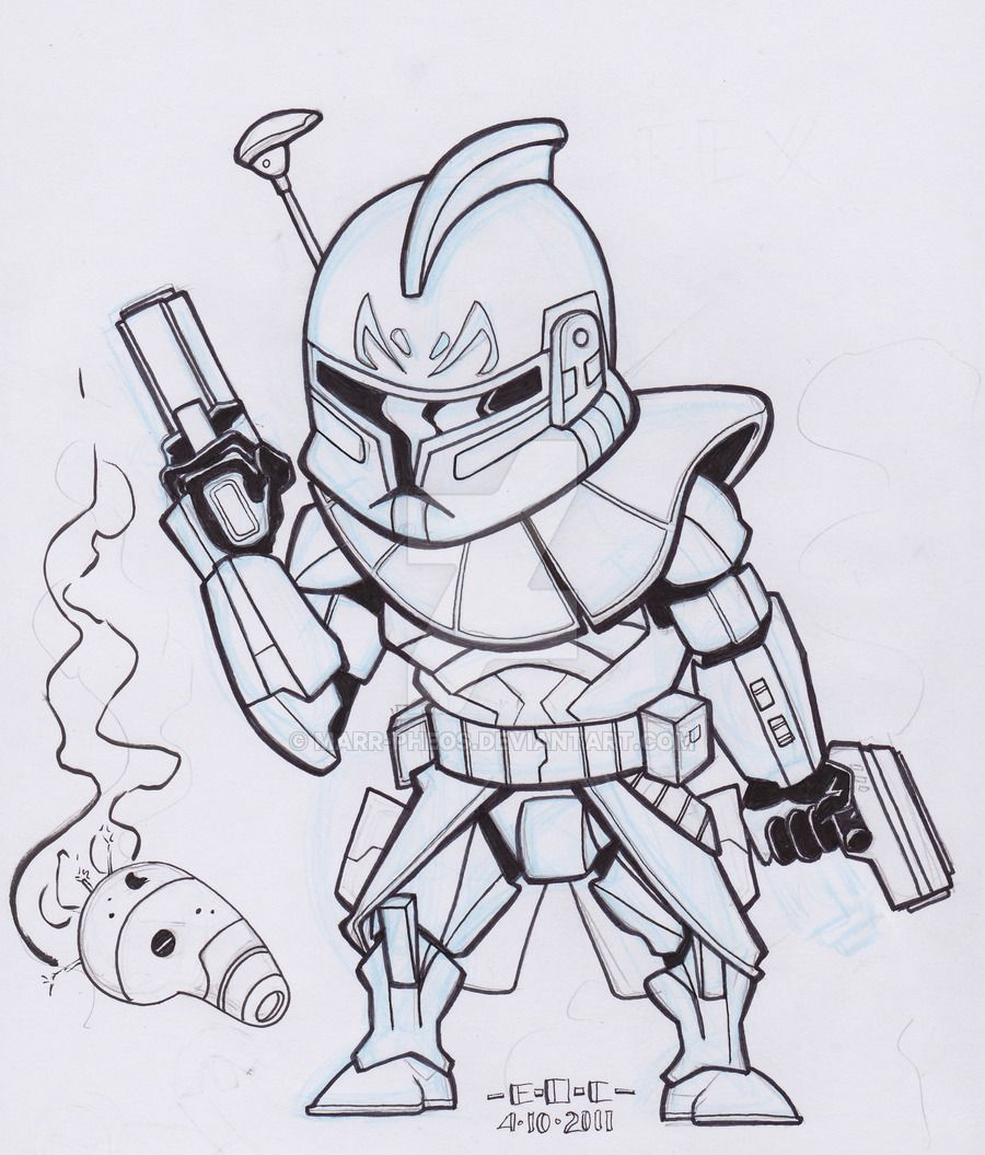 Captain Rex And Commander Cody Coloring Pages Coloring