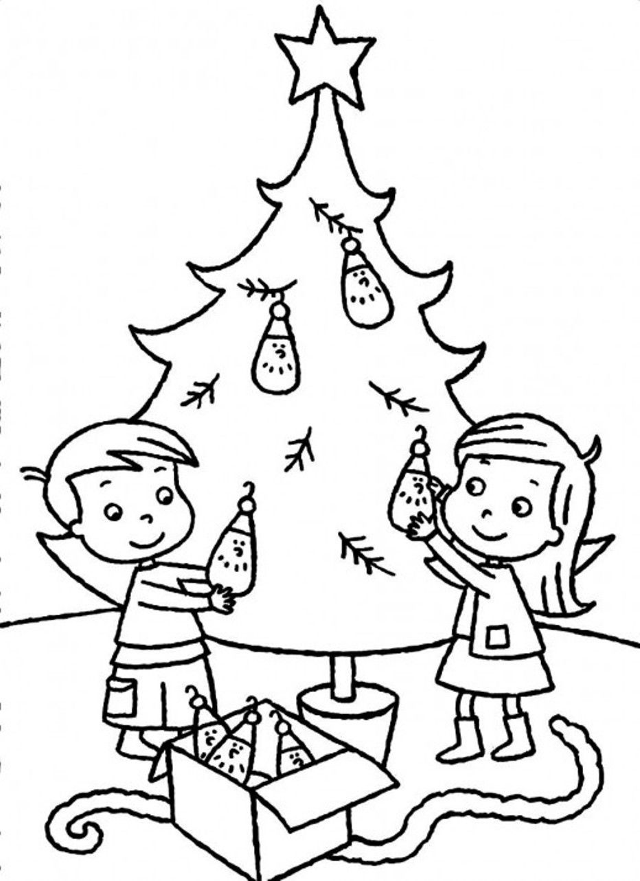 christmas coloring pages on internet - photo#3