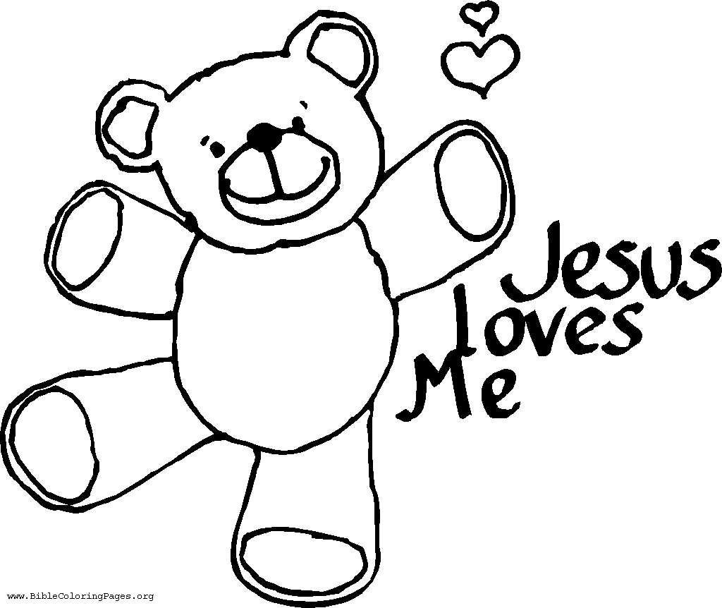 Jesus Loves Everyone Coloring Page  Coloring Home