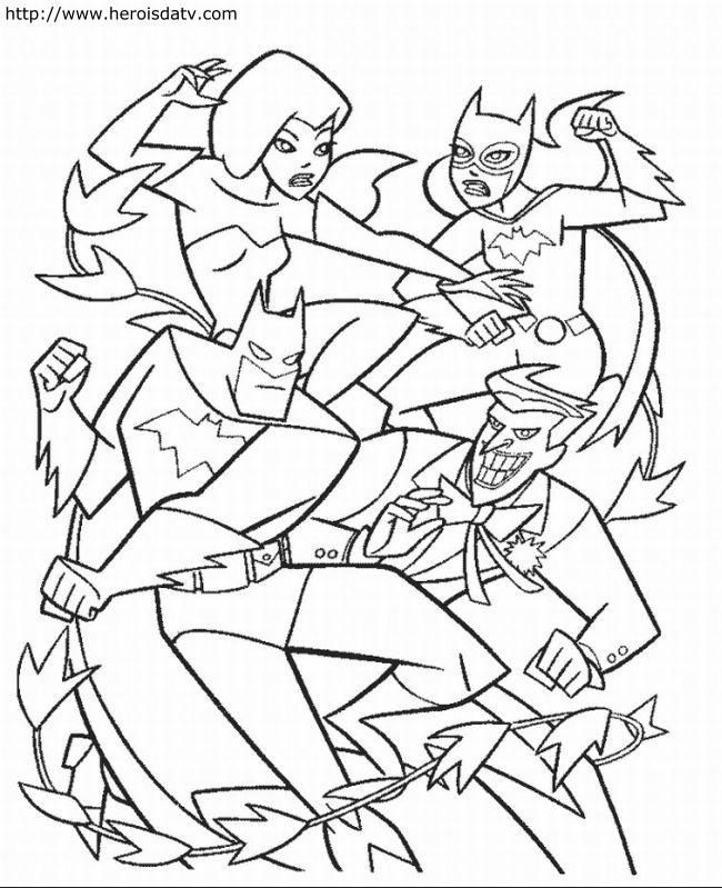 justice colouring pages page 2