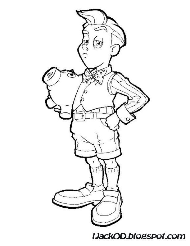 ijack o d colouring pages lazy town colouring pages