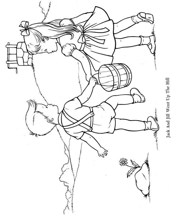 little miss muffet coloring pages - photo#20