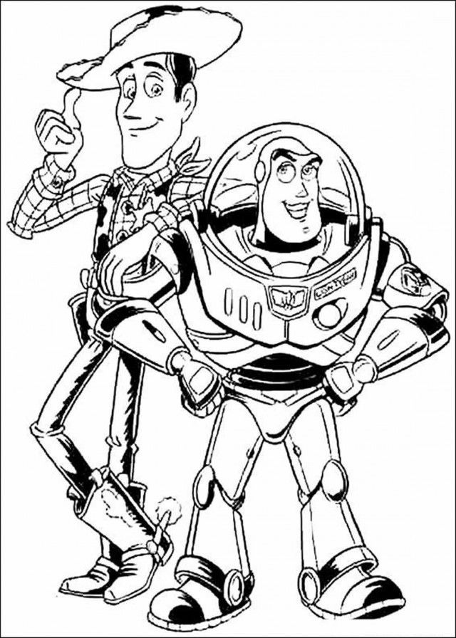 Toy Story 3 Printable Coloring Pages Coloring Home