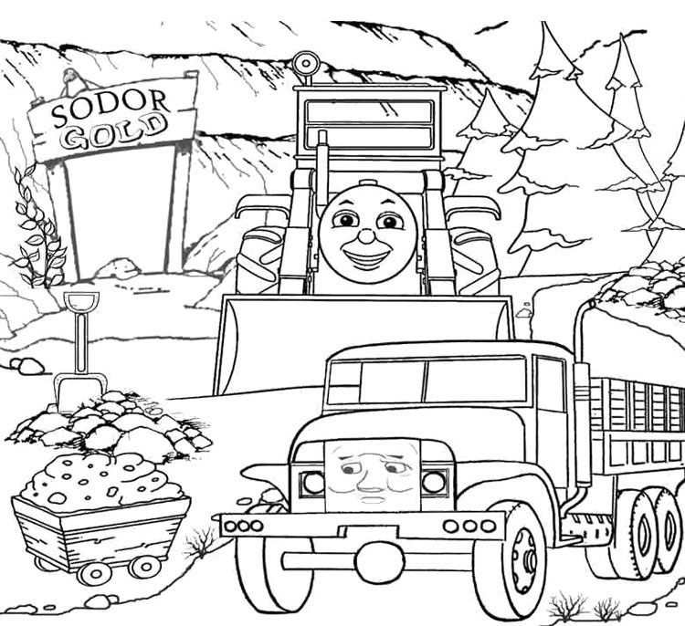 thomas and friends coloring book az coloring pages