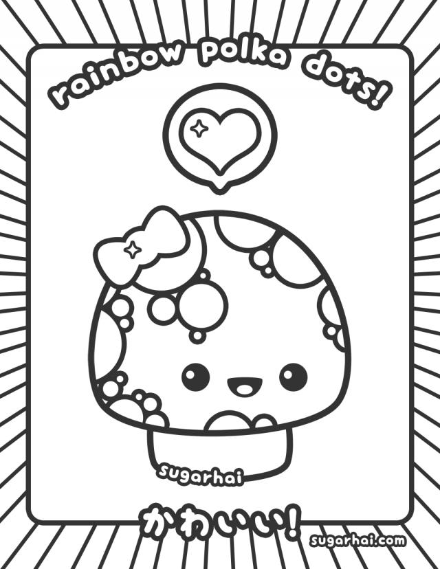 kawaii coloring pages mamegoma images - photo#37