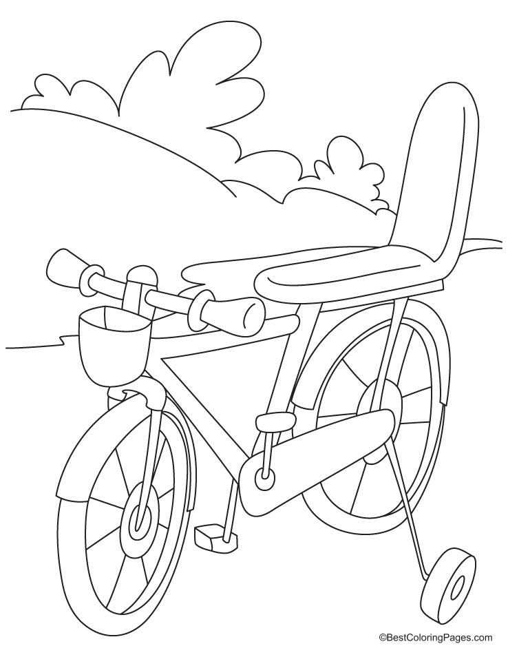 Bicycle Safety Coloring Pages Coloring Home Bike Safety Coloring Pages