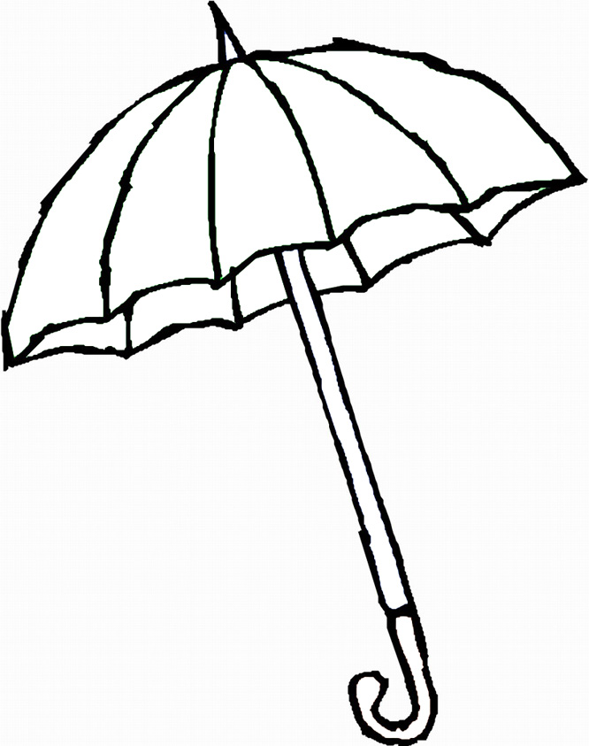 Umbrella Coloring Pages For Kids Az Coloring Pages Umbrella Coloring Pages