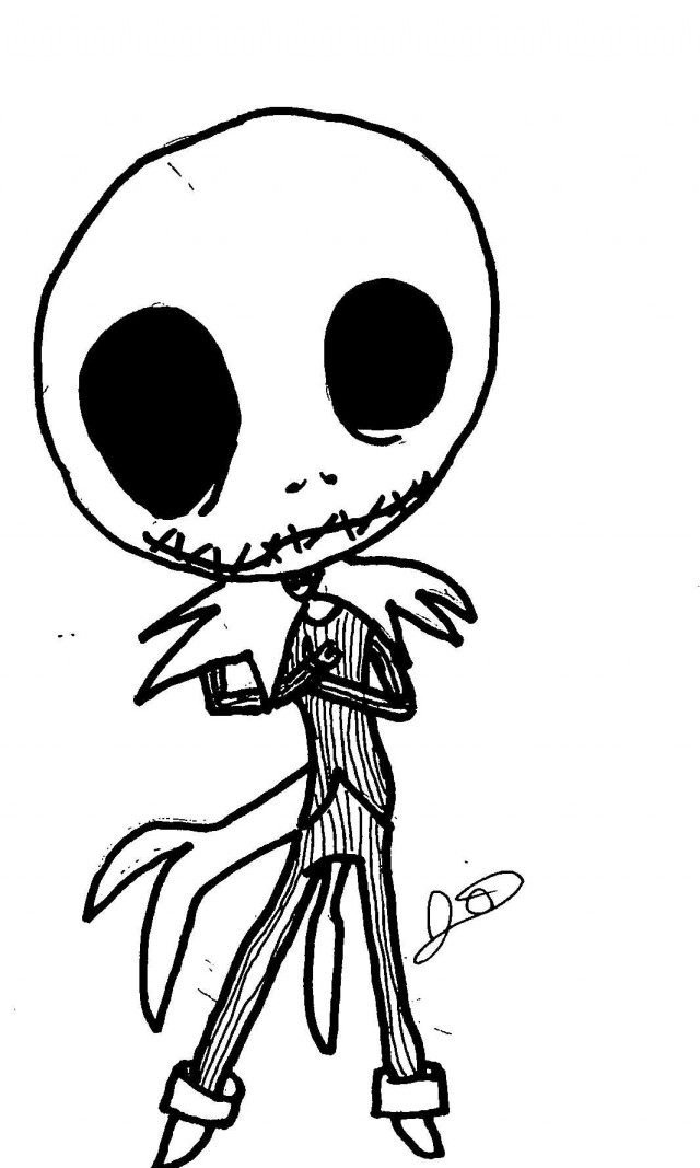 Jack and sally coloring pages az coloring pages for Jack skellington coloring pages