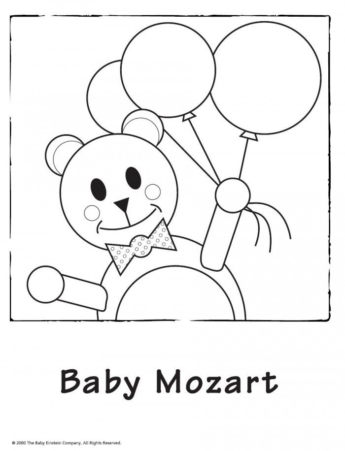 baby bach coloring pages - photo #18