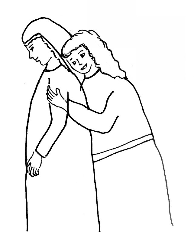 Bible Story Coloring Page for Ruth (the book of) | Free Bible