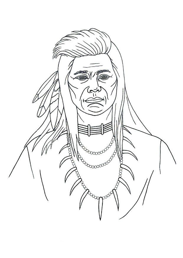 Coloring Pages Native Americans