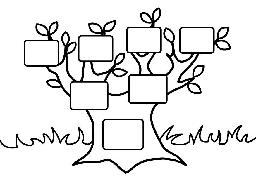 Family Tree Coloring Pages Coloring Home Family Tree Coloring Pages