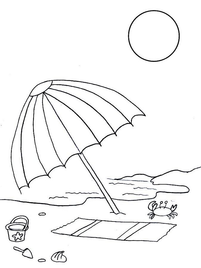 Summer Coloring Pages | coloring pages