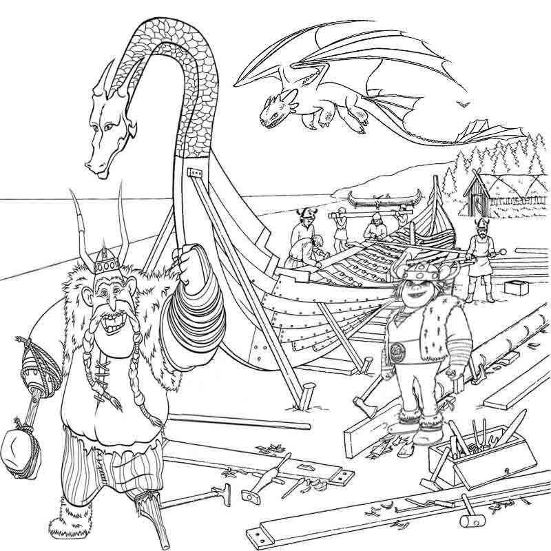Color pages of dragons coloring home for Dragon and castle coloring pages