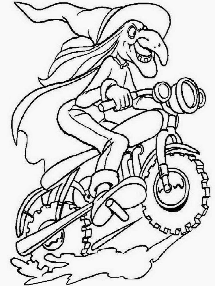 Epiphany coloring pages coloring home for La befana coloring page