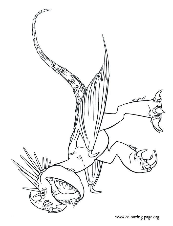 How To Train Your Dragon Coloring Pages For Kindergarten | Free