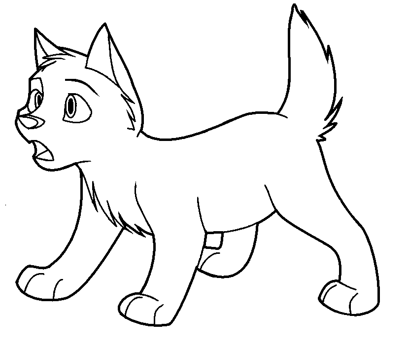 balto balto 3 Colouring Pages (page 2)
