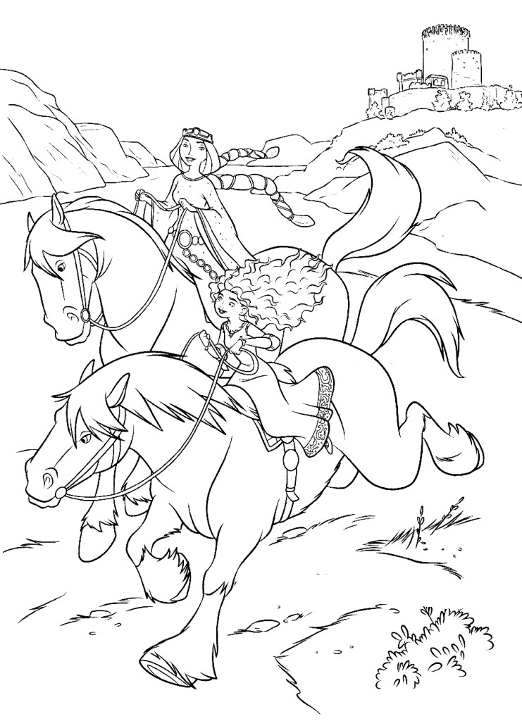 horse race coloring pages - photo#18