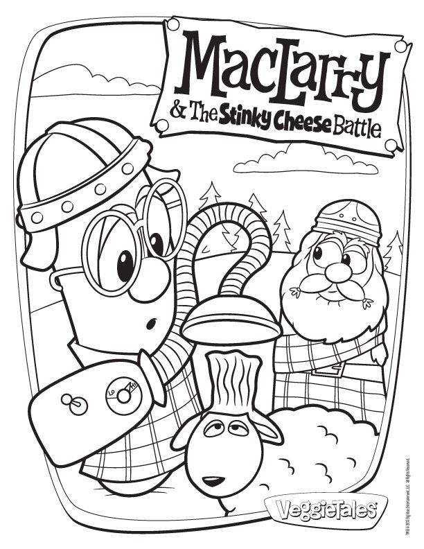 Veggie tales coloring pages coloring home for Veggie tales coloring pages