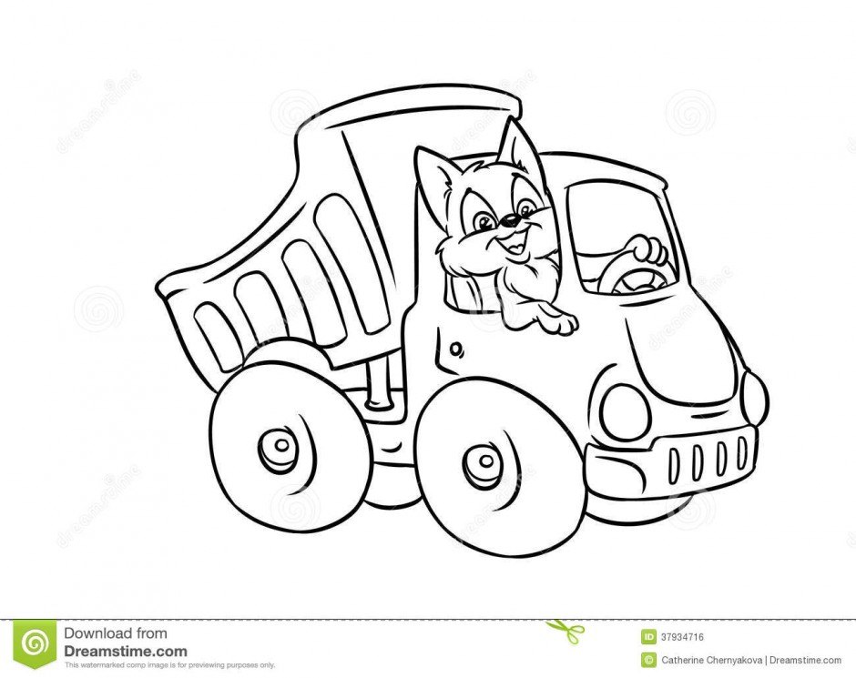 eighteen wheeler coloring pages - photo#45