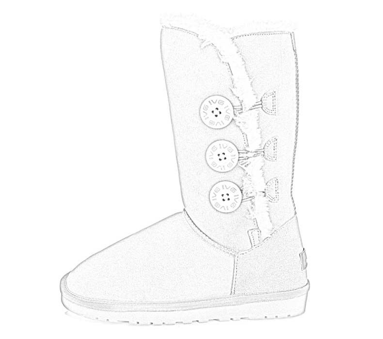 Boots pictures coloring home for Winter boots coloring pages