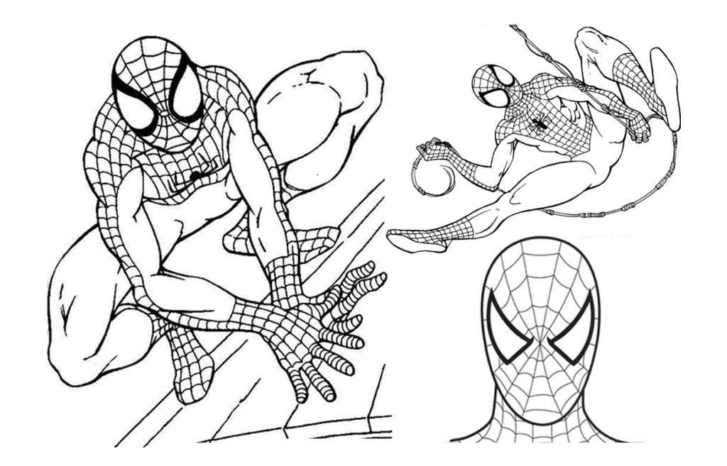 Spiderman Para Colorear Gratis: Marvel The Spectacular Spider Man Coloring Pages