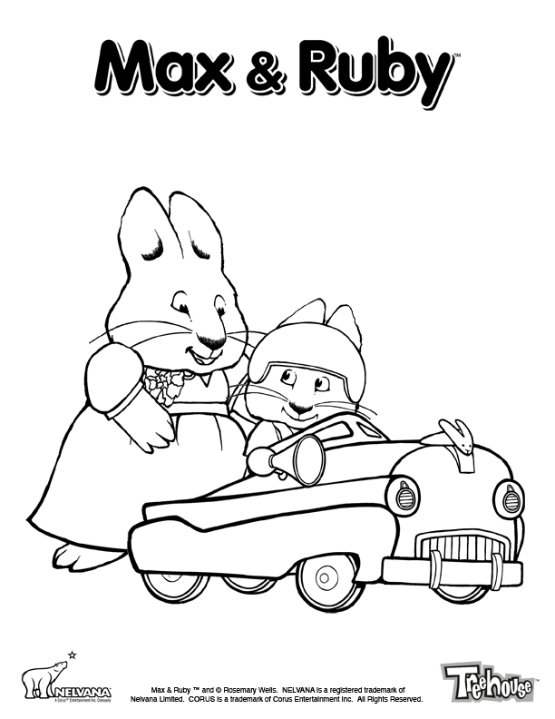 Toopy Binoo Az Coloring Pages Toopy And Binoo Colouring Pages