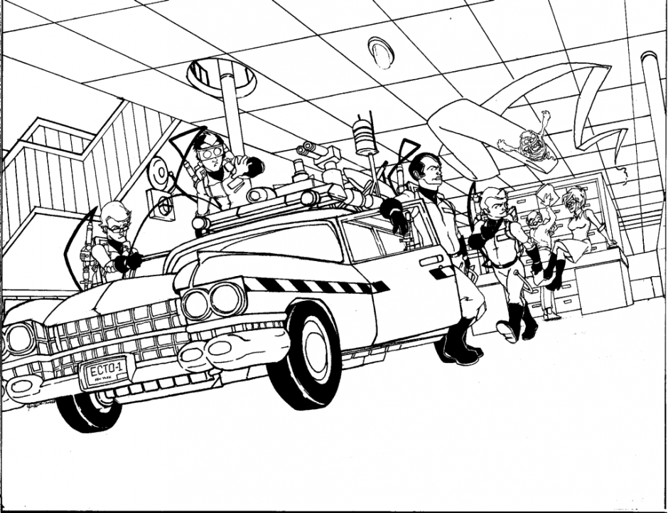 ghostbusters colouring pages page ghostbuster coloring pages