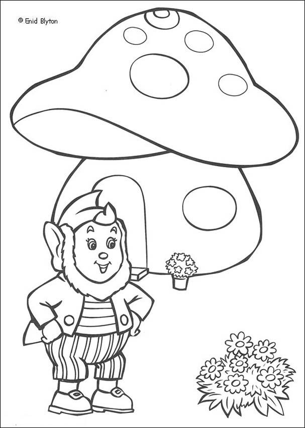 NODDY Coloring Pages - Noddy 36 - Coloring Home
