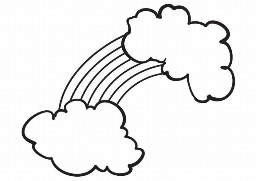 preschool coloring pages clouds free printable coloring pages