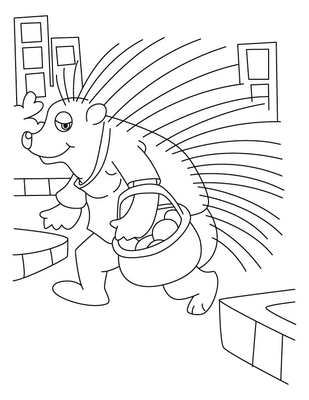quill coloring page - photo #20