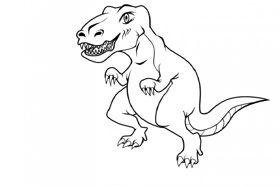 velociraptor coloring pages for kids - photo#19