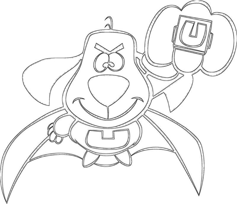 Underdog Coloring Pages - Coloring Home