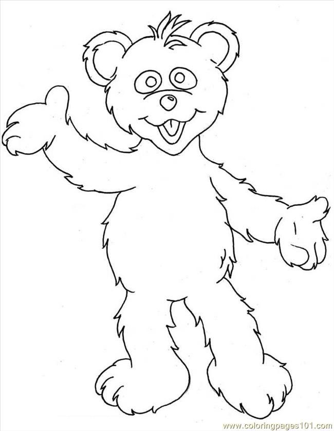 funshine cear coloring pages - photo#12