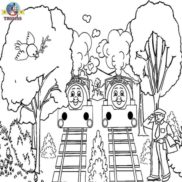 Thomas Printable Coloring Pages
